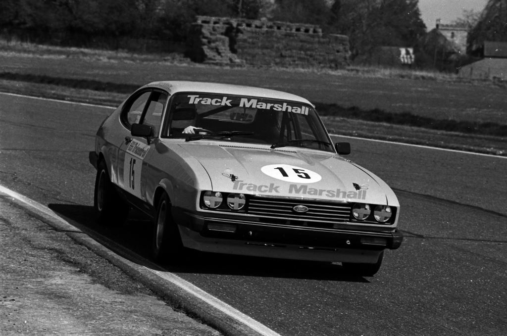 Track Marshall Capri at Thruxton