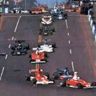 1976 US Grand Prix West opening lap