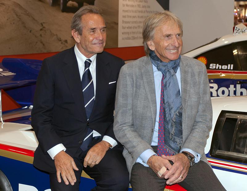 Jacky Ickx and Derek Bell