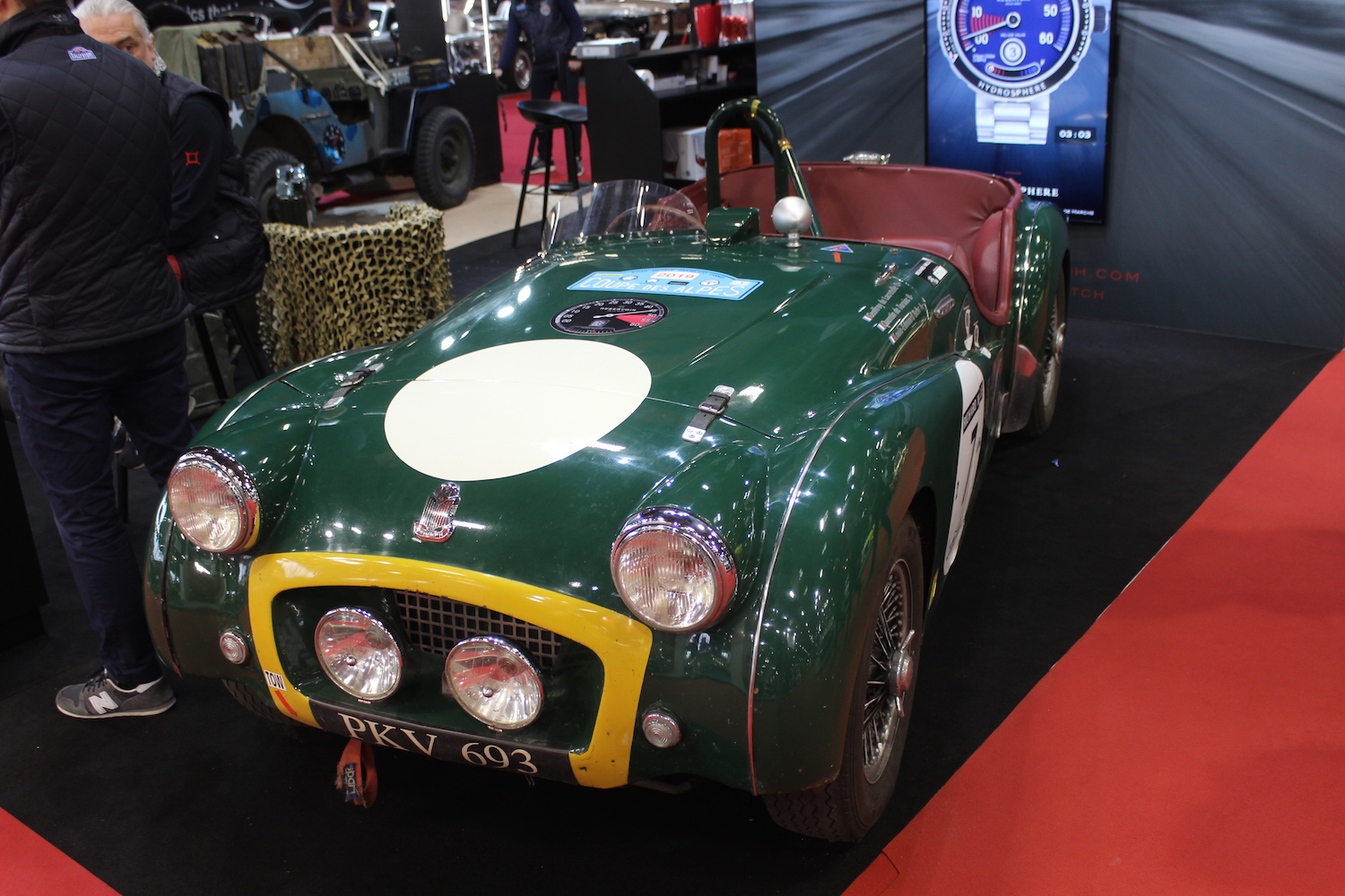 The TR2 at Retromobile