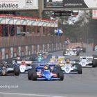 Masters F1 Race Start at Zolder