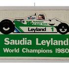 Sticker of the Day No.1: Saudia Williams Leyland, World Champions 1980