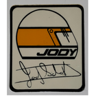 Sticker of the Day No.4: Jody Scheckter's Helmet