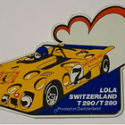 Sticker of the Day No.6: Lola Switzerland, Jo Bonnier 1972