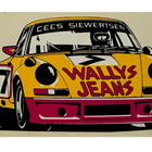 Sticker of the Day No.9: Cees Siewertsen Porsche 911 Carrera RSR
