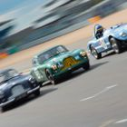 A brace of Aston Martin DB2s and a Nash-Healey Le Mans