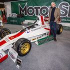 Damon Hill at Race Retro