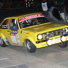 Ford Escort on a Night Stage
