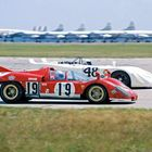 Ferrari and Porsche at Sebring