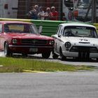 Croft Nostalgia Festival - Mustang and Lotus Cortina