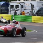 Photo of racing cars at Croft Weekend