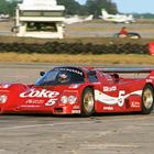 Hans Stuck at Sebring, Porsche 962