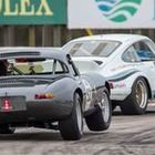 Porsche and Jaguar at Sebring