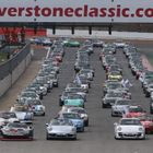 Porsche Club GB Parade at Silverstone Classic