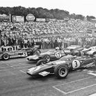 British GP Race Start - 1970
