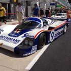 Photo of car in pits at Le Mans