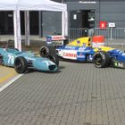Merlyn FF1600 and Williams FW14