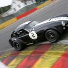 Gentlemen Drivers GT Cobra round Spa's La Source corner