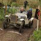 Don Skelton in action in his Austin 7