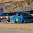 Troy Ermish (38) swept both 1966-1972 Trans-Am 2.5 Liter events on Sunday with a borrowed motor in his 1972 Datsun 510. (photo credit: Tim Hill)