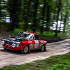 Lancia on Goodwood Rally Stage