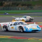 Leo Voyazides/Simon Hadfield triumphed in the FIA Masters Historic Sports Car Championship race