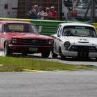 Historique Touring Cars at Croft