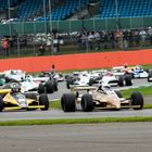FIA Historic F1 Race Start