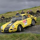 Porsche 911 at Manx Hairpin