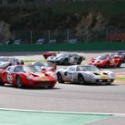 GT40s at Spa Start