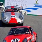 Sportscar action at the Monterery Reunion