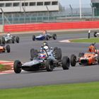 HSCC Historic FF1600 lead battle at Silverstone