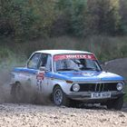 BMW 2002 on Gravel