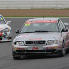 Audi A4 Super Tourer at Silverstone