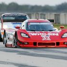 John Reisman drove the Hudson Historics-prepared 2010 No. 33 Coyote Corvette Daytona Prototype