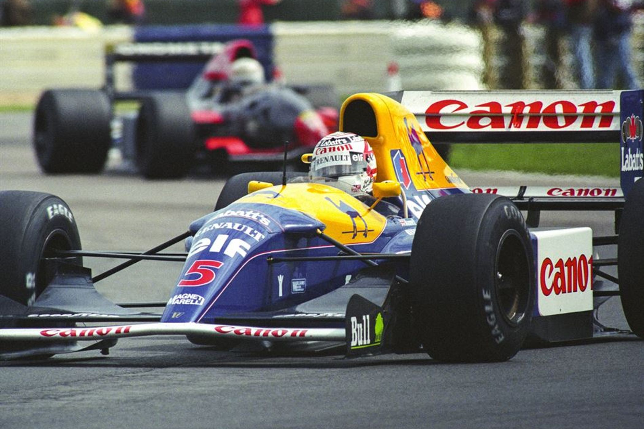 Mansell To Star At London Classic Car Show HistoricRacingNewscom - London classic car show