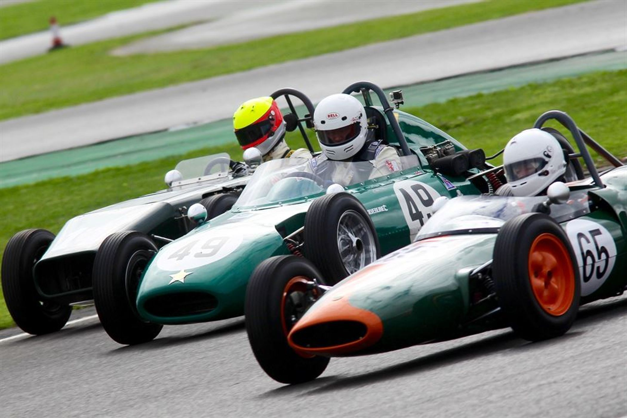 Formula Junior Races At Silverstone Classic Dedicated To World