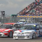 Super Touring Car Racing at the Silverstone Classic