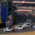 Group C racers at Le Mans 2014