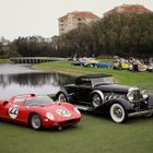 Ferrari and Duesenberg at Amelia Island