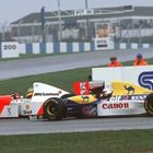 Senna and Prost at Donington 1993