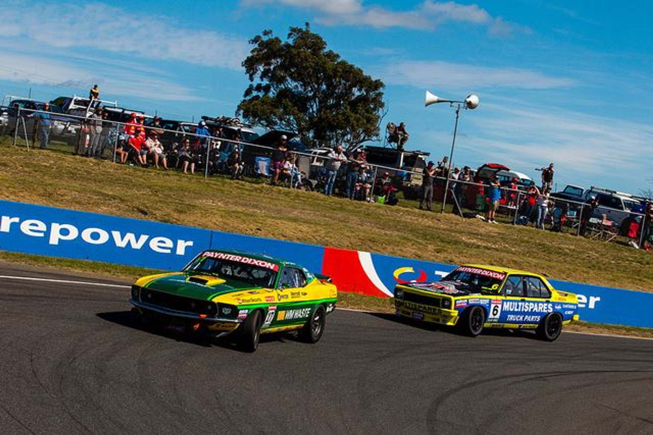 Johnson Takes Saturday Touring Car Masters Win