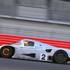 Sauber C11 under heavy braking