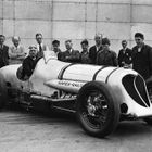 John Cobb in the Napier-Railton