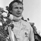 Jean-Pierre Beltoise on the podium