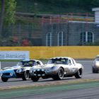 Jaguars at Spa