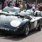 Jaguars at Shelsley Walsh
