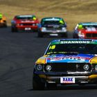 Steve Johnson heads the ENZED Touring Car Masters field at Symmons Plains