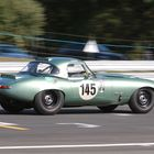 Jaguar E-Type at Spa