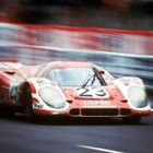 Attwood and Herrman 917K Le Mans 1970